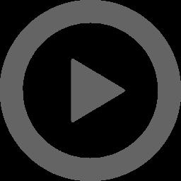 動画再生マークのアイコン
